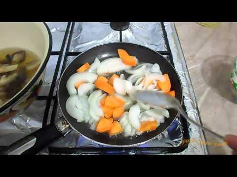 Как варить грибной суп из сухих грибов