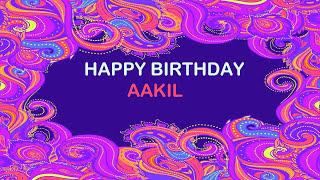 Aakil   Birthday Postcards & Postales