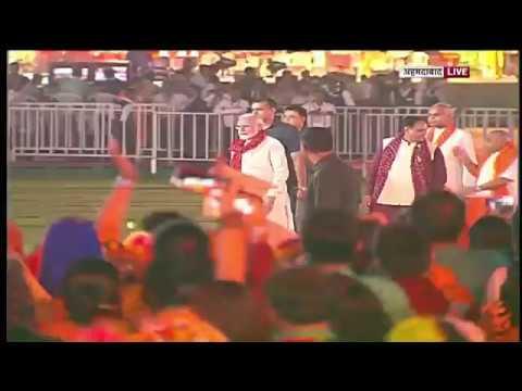 PM Modi at Navratri Garba in Ahmedabad, Gujarat