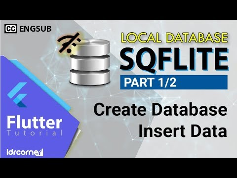 Flutter Tutorial – SQFLITE (Pt 1/2) – Create DB – Insert Data