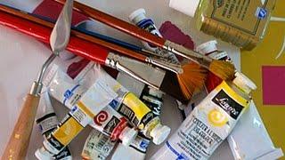 Уроки от Анжелики для начинающих художников. Материалы для работы с маслом(В этом уроке вы познакомитесь с материалами для работы с маслом, для начинающего художника. Партнерская..., 2015-08-06T13:28:54.000Z)