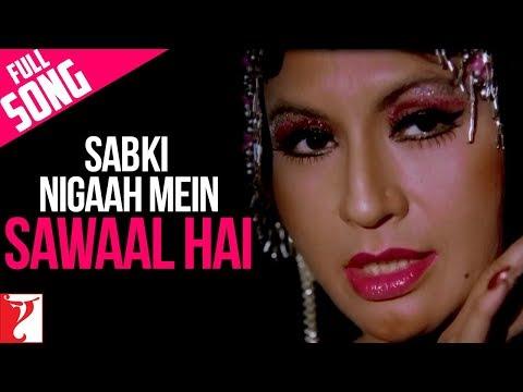 Sab Ki Nigaah Mein Sawaal Hai - Full Song | Sawaal | Shashi Kapoor | Poonam | Helen | Asha Bhosle