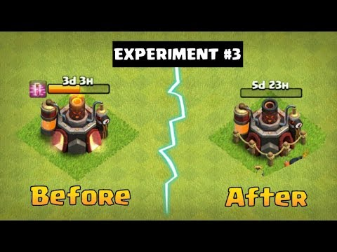 EXPERIMENT #3 What Happen When Upgrade Lab While Researching? | Clash Of Clans