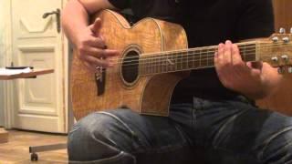 Обучение игре на гитаре.Бой 2 - ЛиберТанго. ШколаГитары.рф