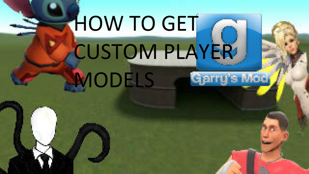 GMOD HOW TO GET CUSTOM PLAYER MODELS
