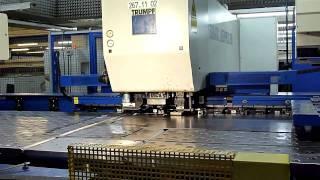CNC Laserschneid- und Stanzmaschine TRUMPF Laserpress 260