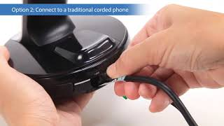 VH6210/VH6211 Convertible Office Wireless Headset - Connection Setup