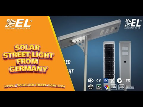 2016 Latest Version Solar LED Street Light--DEL ILLUMINATION