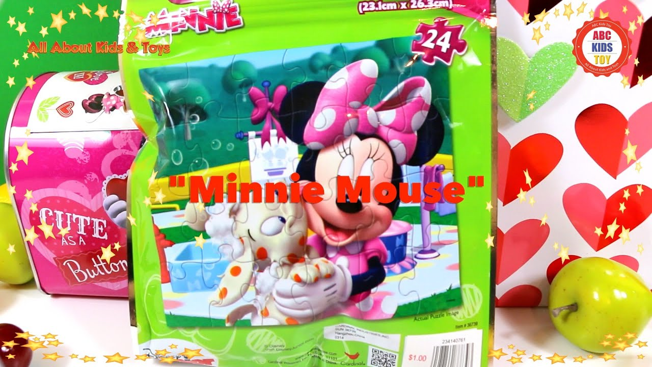 Minnie Mickey Mouse Top Disney Cartoon Characters Games ABC Kids
