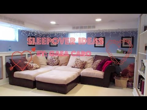 Planning a Sleepover Party for Teen Women
