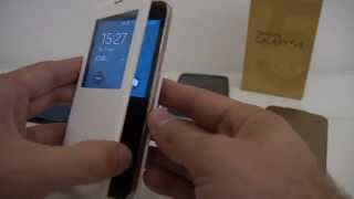 Samsung Galaxy S5 S View Cover im Hands On [Deutsch]