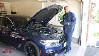 2018 BMW 540I REVIEW.  LEARN WHAT TECH IS IN IT