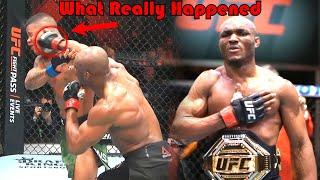 INSANE!!! What Really Happened (Kamaru Usman vs Gilbert Burns)