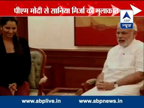 Tennis Superstar Sania Mirza Meets PM Modi