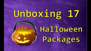 TF2: Unboxing all 17 Halloween packages