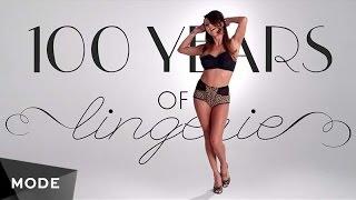 100 лет истории моды: Дамское белье