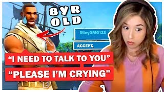 Download 8 Year Old SCARES Pokimane with Message on Fortnite! Mp3 and Videos