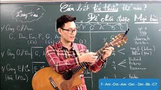 (GPT guitar school) Làm sao đệm hát mọi bài hát? (phần 1)