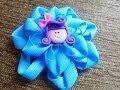flores lazos accesorios y moños  en cinta para el cabello paso a paso,video  265