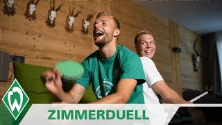 Zimmerduell: Lennart Thy & Janek Sternberg   SV Werder Bremen