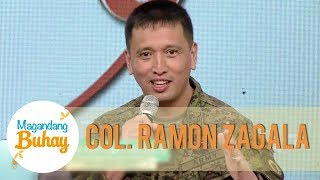 Col. Zagala shares the time when Matteo entered the Philippine Army Reserve Forces | Magandang Buhay
