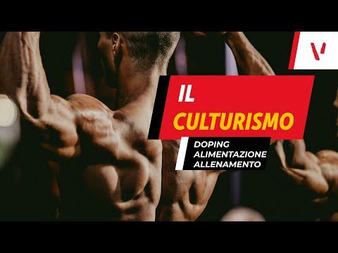 Culturismo: doping, alimentazione ed allenamento