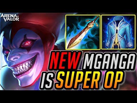 MGANGA is NO.1 MAGE NOW? Arena of Valor How Mganga SS Ranked Gameplay | 傳說對決 穆加爵