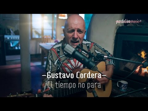 Gustavo Cordera - El Tiempo No Para (acústico) (Bersuit Vergarabat) (Live on PardelionMusic.tv)