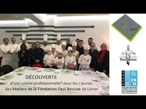 L'Interview Restaurant le Kléber Atelier Fondation Paul Bocuse