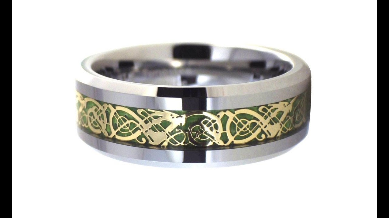 celtic ring knot style braid rings unique with wedding irish silver modern engagement