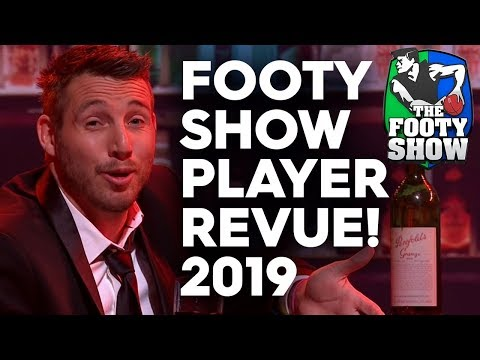 Grand Final Show 2019 - Full Player Revue   AFL Footy Show