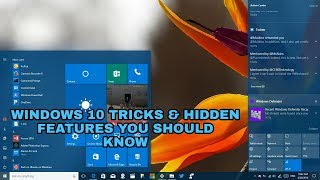 Windows 10 Tricks and Hidden Features You Should Know [malayalam]