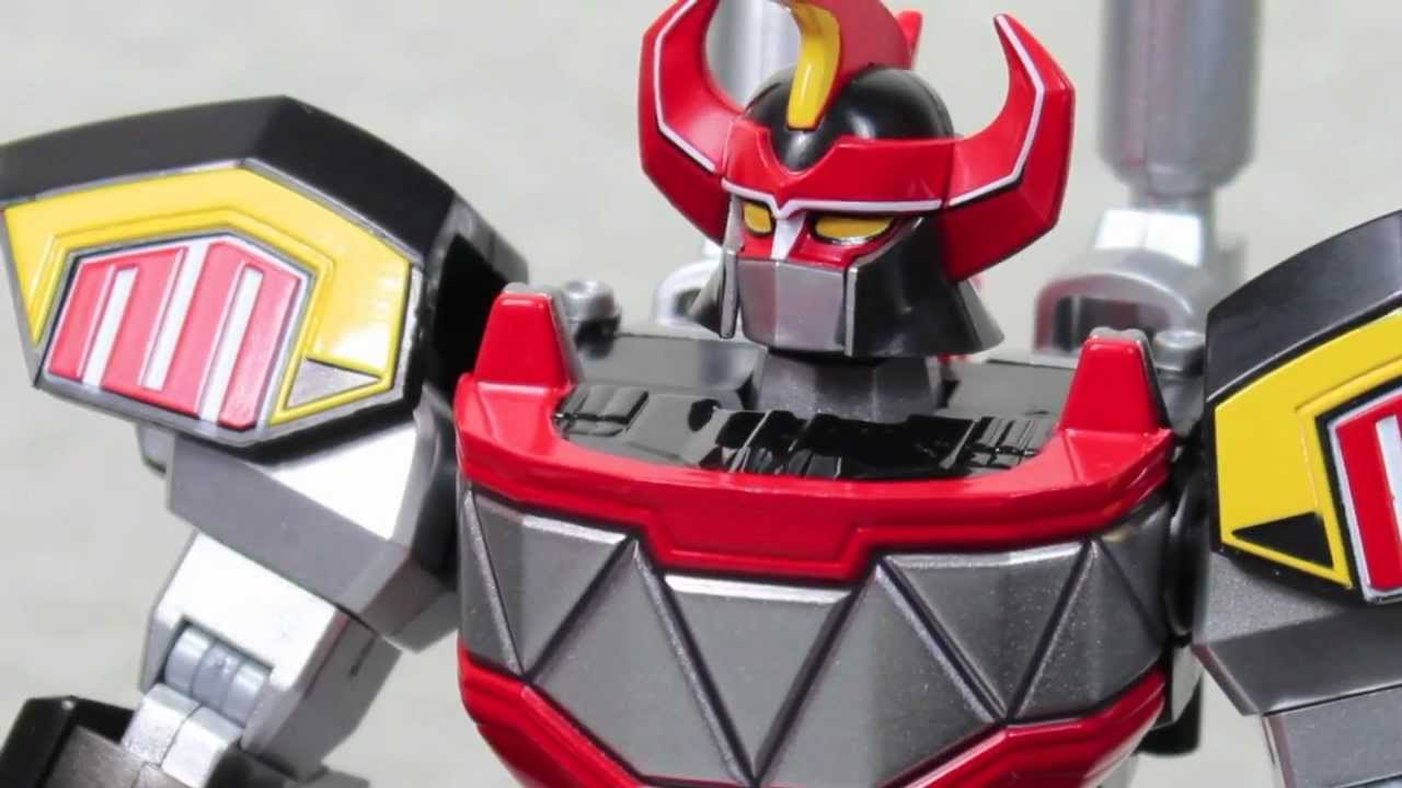 Uncategorized Robot From Power Rangers mighty morphin power rangers super robot chogokin daizyujin aka dino megazord figure review youtube