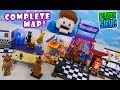 Five Nights at Freddy's GAME MAP PLAYSET! COMPLETE McFarlane Toys SERIES 5