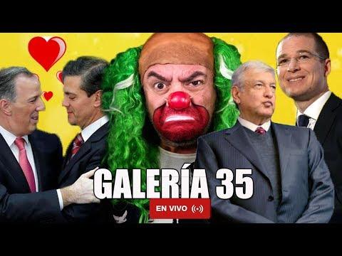 GALERÍA #35:AMLO PERDONA A SALINAS Y EPN/ MEADE Y SU PROPUESTA ANTICORRUPCIÓN/LEGALIZANDO A MARYJANE