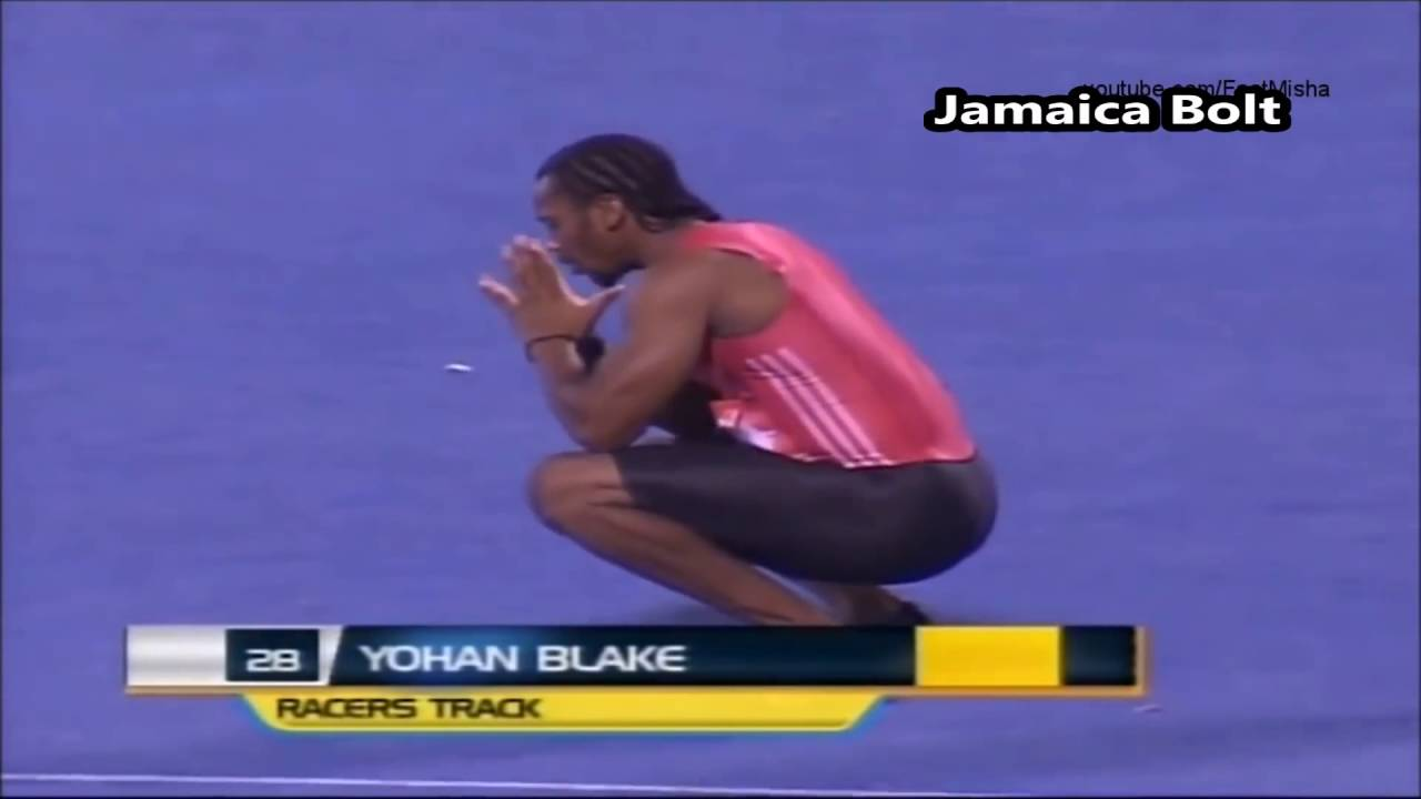 Usain Bolt Pulls Out Of Race To Make Yohan Blake Win 100m ...