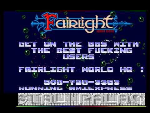 commodore amiga cracktro Fairlight - FLT - Sidmon 2 intro - cbm