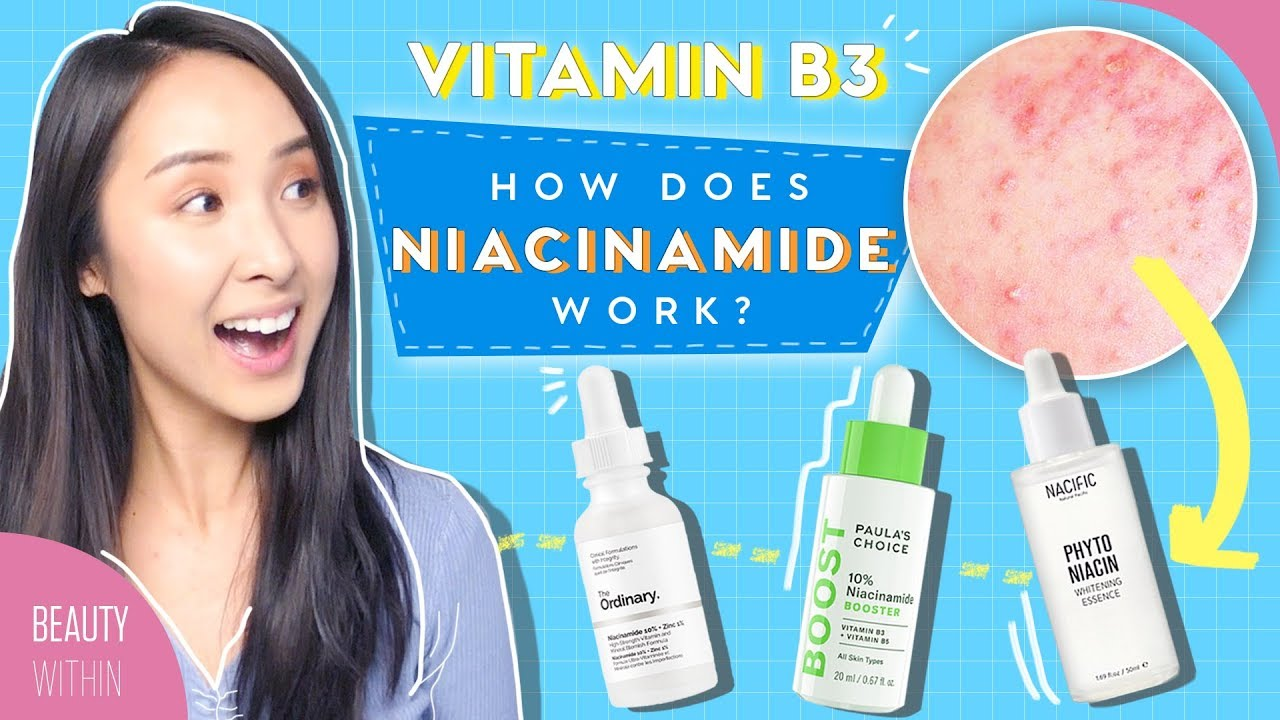 How To Use Niacinamide To Minimize Large Pores Brightening And