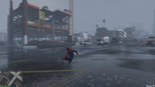 Spiderman PS4 in GTA V - WIP