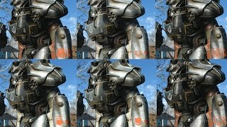 All BOS Power Armor Paint Jobs/Ranks Fallout4