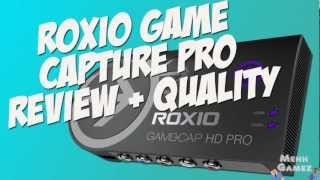 Roxio Game Capture HD Pro Review and Quality Test - xbox 360/ps3/pc capture card