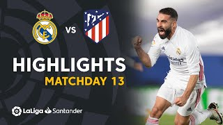 Highlights Real Madrid vs Atletico Madrid (2-0)