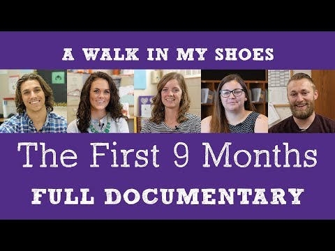 The First 9 Months: First Year Teacher Full Documentary