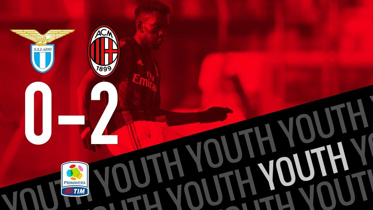 Highlights Lazio 0-2 AC Milan Primavera Matchday 8 Primavera 1 TIM - YouTube