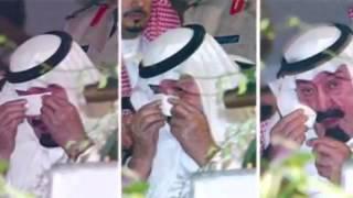 خالد التويجري يرثي الملك عبدالله لحظة وفاته