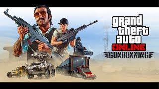 GTA 5 ONLINE NEW OFFICIAL GUNRUNNING DLC GAMEPLAY TRAILER! (GTA 5 Gunrunning Update)