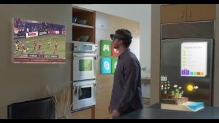 شيء_تك نظرة على نظارة مايكروسوفت HoloLens