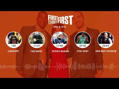 First Things First audio podcast(4.6.18) Cris Carter, Nick Wright, Jenna Wolfe | FIRST THINGS FIRST