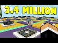 THIS FARM MAKES 3 MILLION A MINUTE!  | Minecraft SKYBLOCK #13
