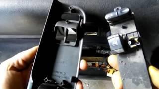 Changer bouton de lève vitre - Apprendre la mécanique